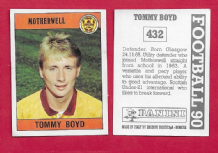 Motherwell Tommy Boyd Scotland 432